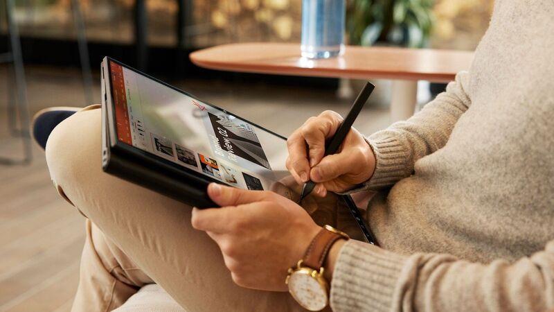 Shapeshifting Productivity Laptops