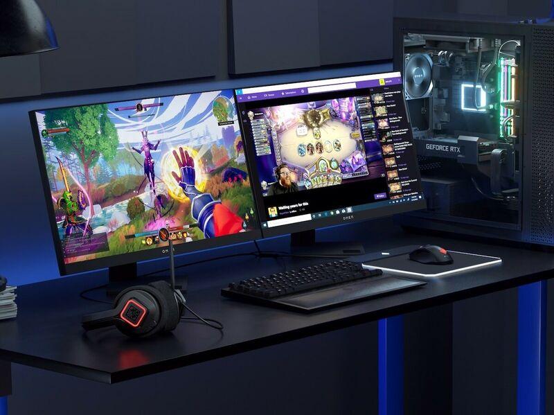 Immersive Life-Like Gaming Monitors