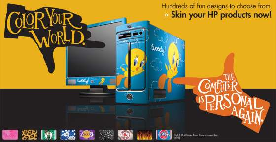 HP Skins