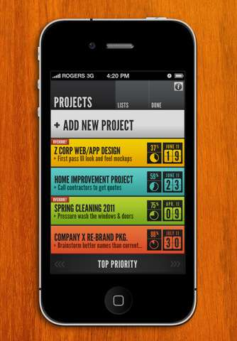 Color-Coding Agenda Apps