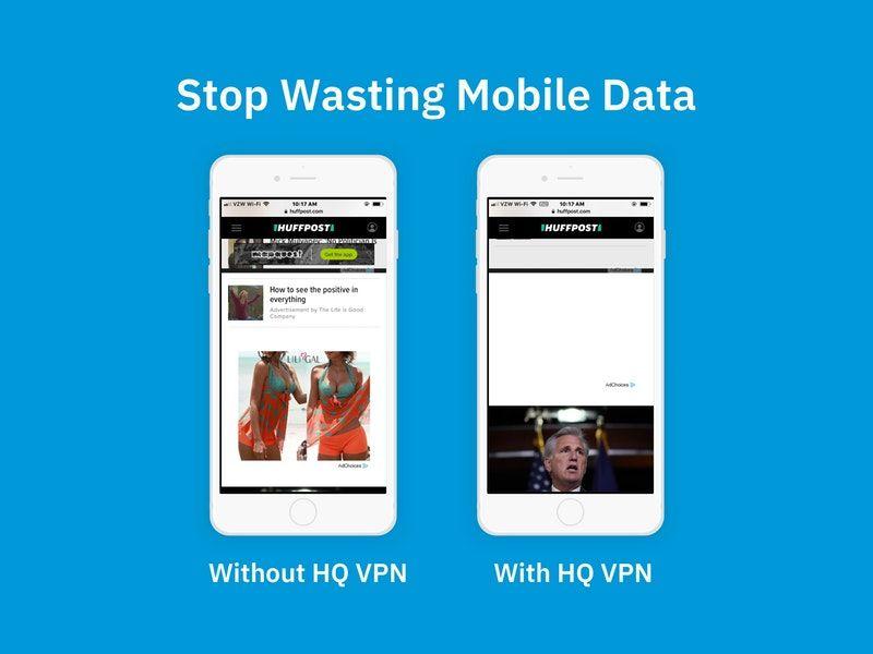 Data-Saving VPN Services