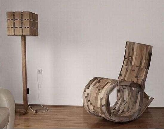Leftover Wooden Rockers Hrvoje Vulama