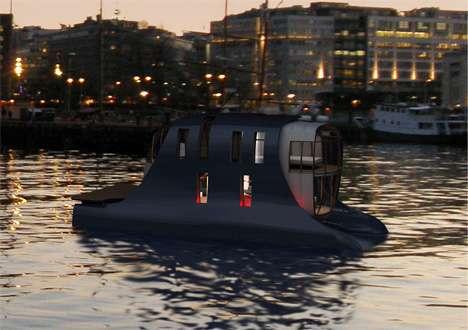 Futuristic Houseboats