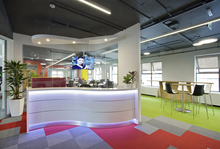 Rainbow-Themed Offices