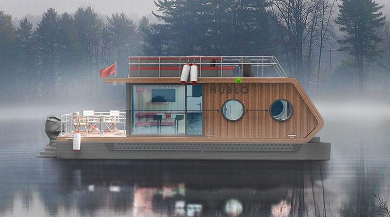 Modern Nordic Design Houseboats