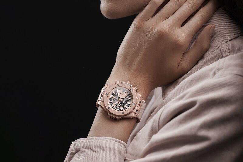 Elegant Millennial Pink Timepieces