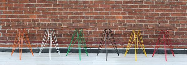 Tapered Wireframe Furniture Legs