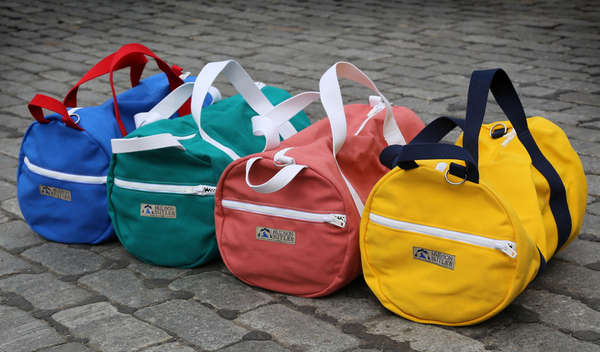 Vibrantly Durable Duffles