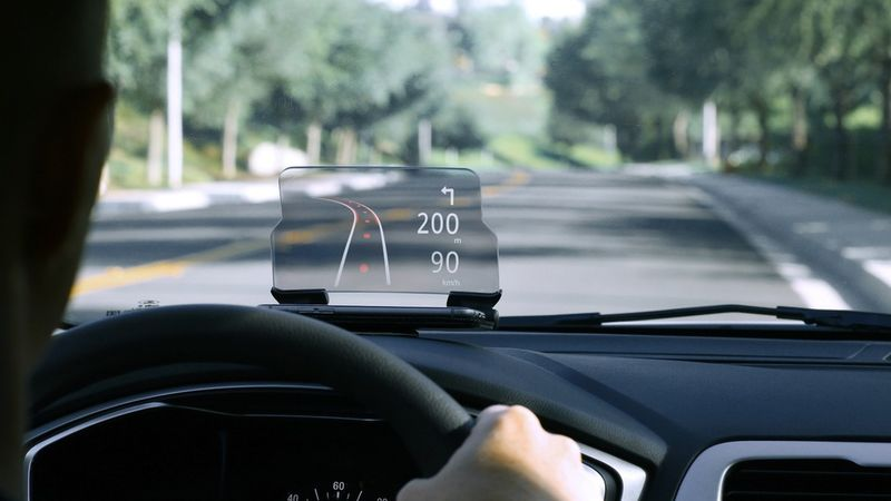 Affordable Heads-Up Displays
