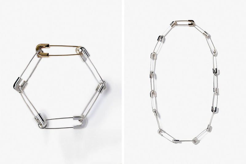 Safety Pin-Inspired Jewelry