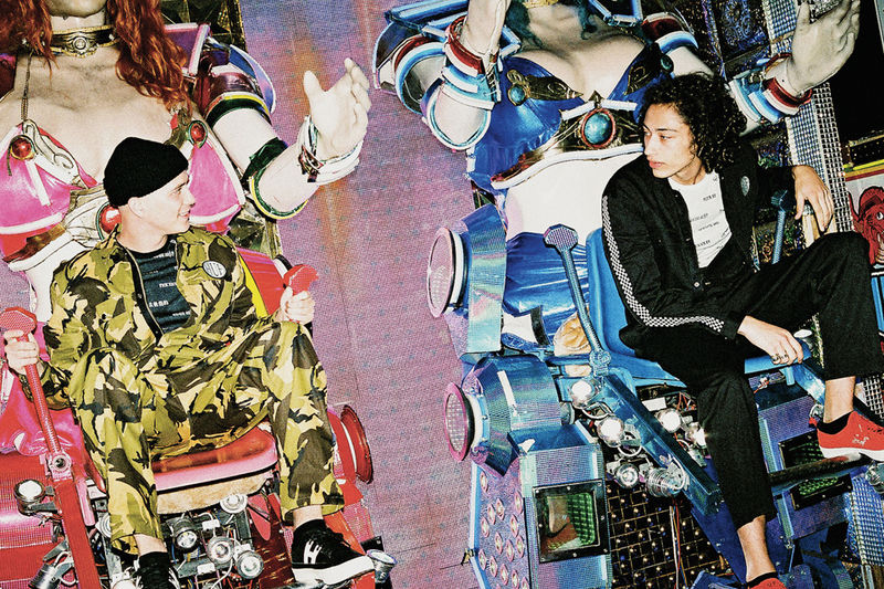 Heavily Printed Streetwear Campaigns