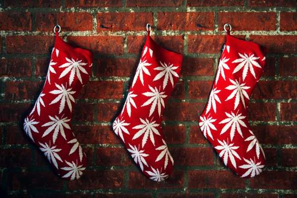 Festive Cannabis Decor