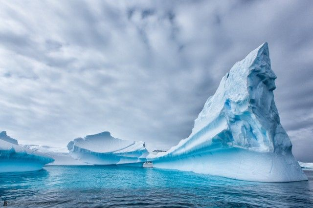 Hyperrealistic Iceberg Photography