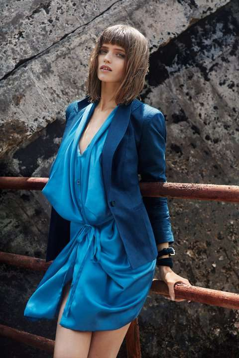 Breezy Blue Frocks