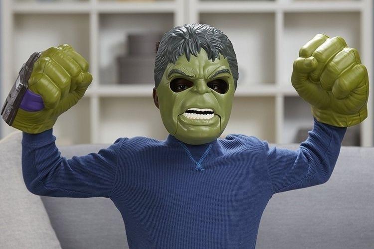 Animatronic Superhero Masks