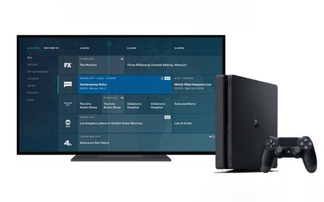 Live-TV Game Consoles