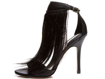 Human Hair Footwear