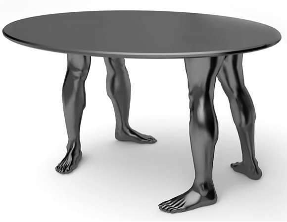 Muscular Table Legs