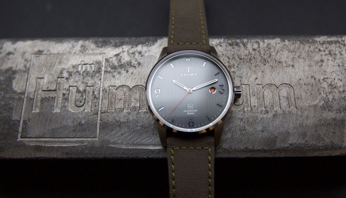 Humanium-Constructed Watches