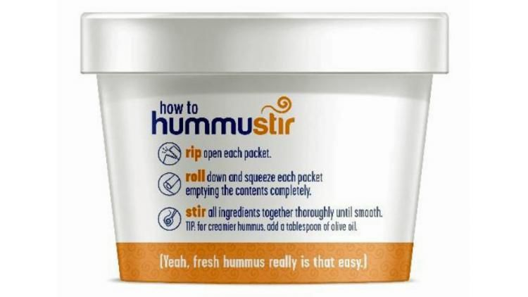 Shelf-Stable Hummus Cups