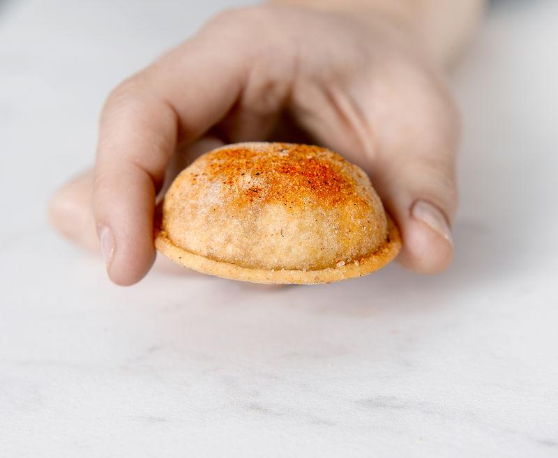 Hummus-Stuffed Bites