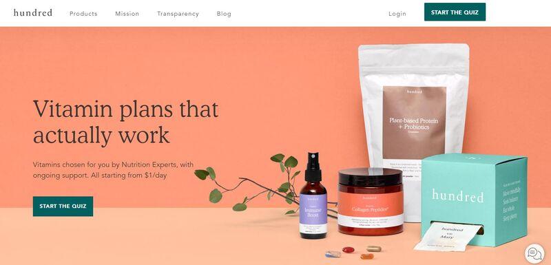 Expert-Curated Vitamin Packs