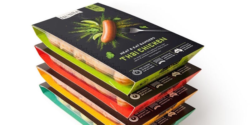 Bold Australian Sausage Packaging