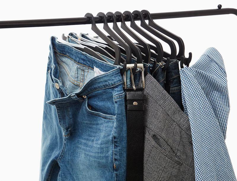 Trouser-Organizing Closet Accessories