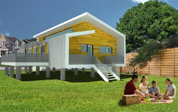 Inexpensive disaster proof homes hurricane proof design for Hurricane proof beach house plans