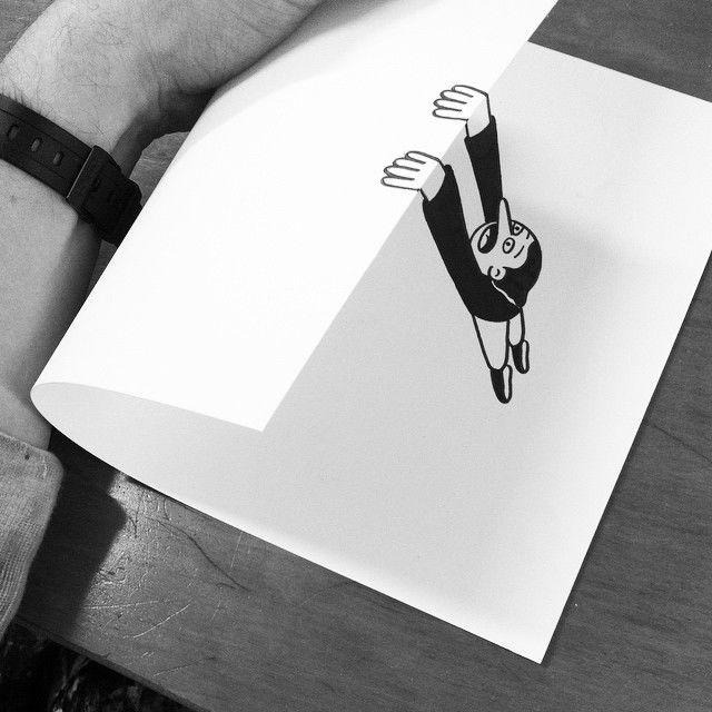 Paper-Folded Illustrations