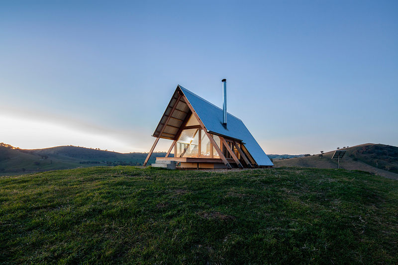 Tent-Shaped Hut Rentals