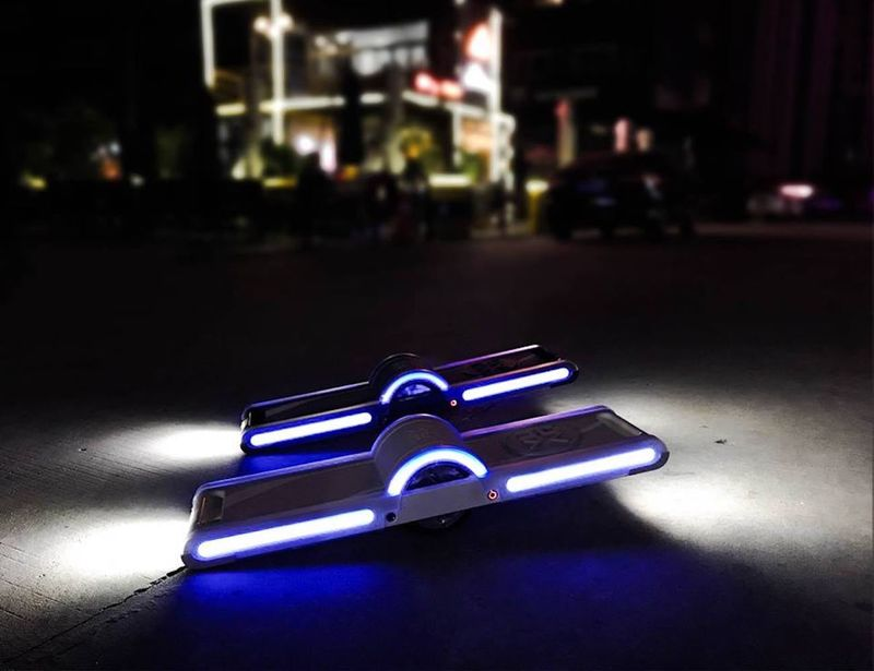Self-Stabilizing Hoverboard Scooters