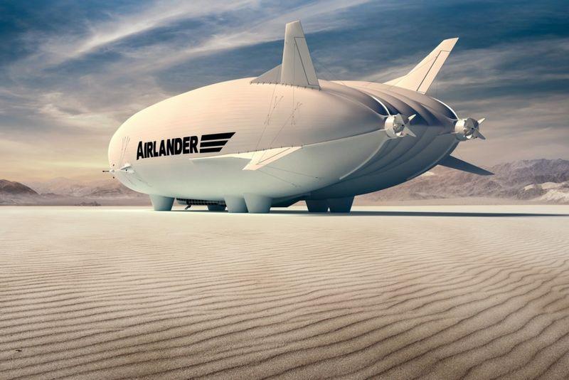 Hybrid Propulsion Airships