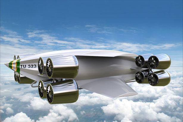 Futuristic Delivery Aircrafts