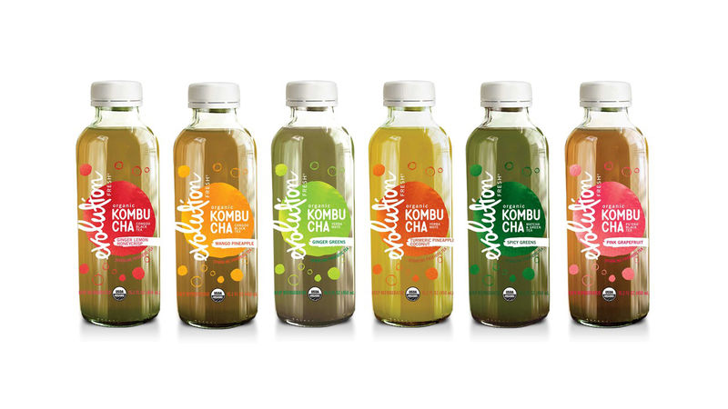 Hybrid Kombucha Drinks