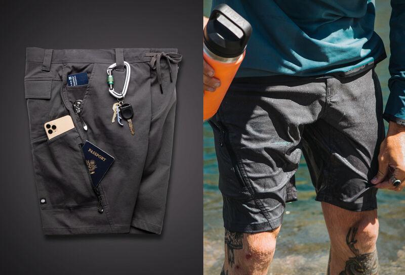 Feature-Rich Traveler Shorts