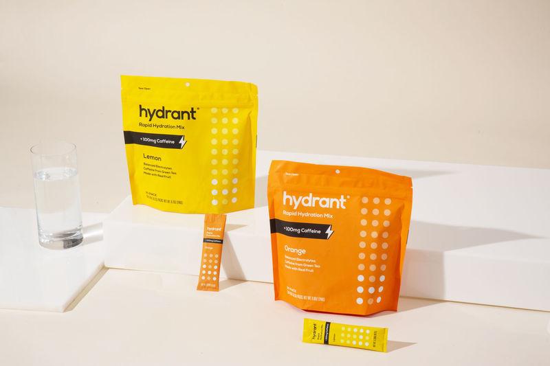 Caffeinated Electrolyte Powders