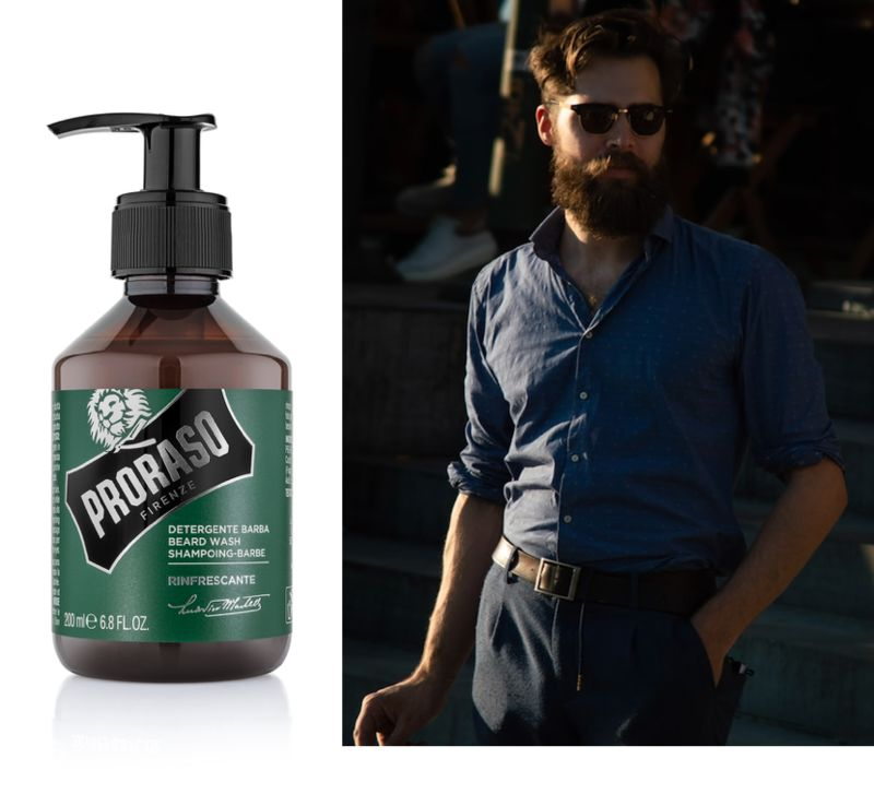 Refreshingly Hydrating Beard Shampoos