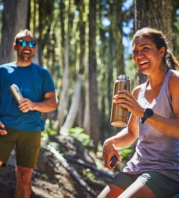 Lightweight Hiker Water Bottles