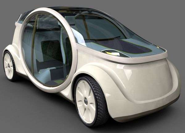 Oval-Shaped Car Doors