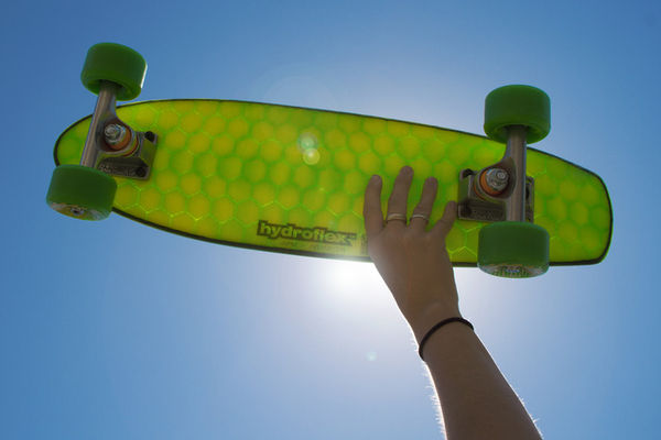 Surf-Inspired Skateboards