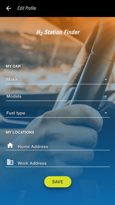 Hydrogen Fuel-Finding Apps