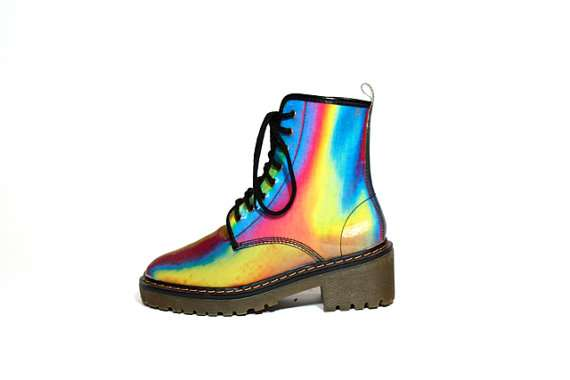 Chromatic Colorful Footwear