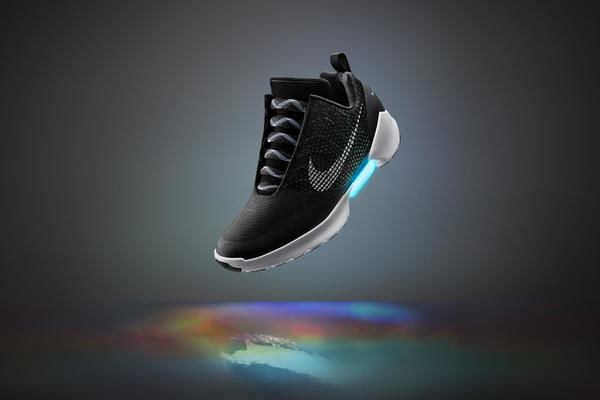 Futuristic Self-Lacing Sneakers