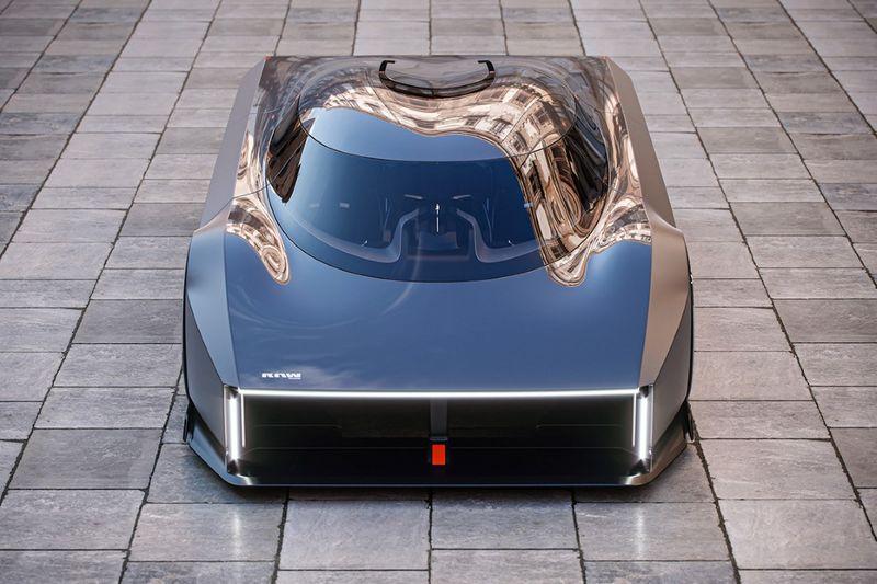 Sleek Sliding Seat Hypercars
