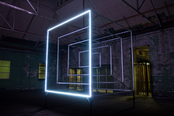Atmospheric Light Cubes Hypercube