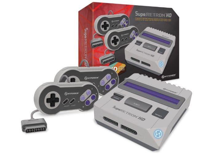 Retro Game-Upgrading Consoles