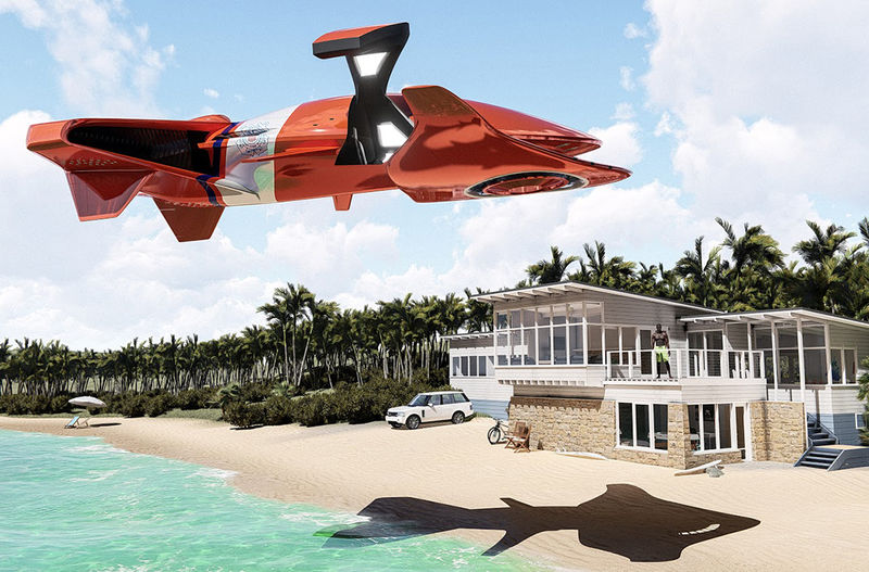 Autonomous Amphibious Jets