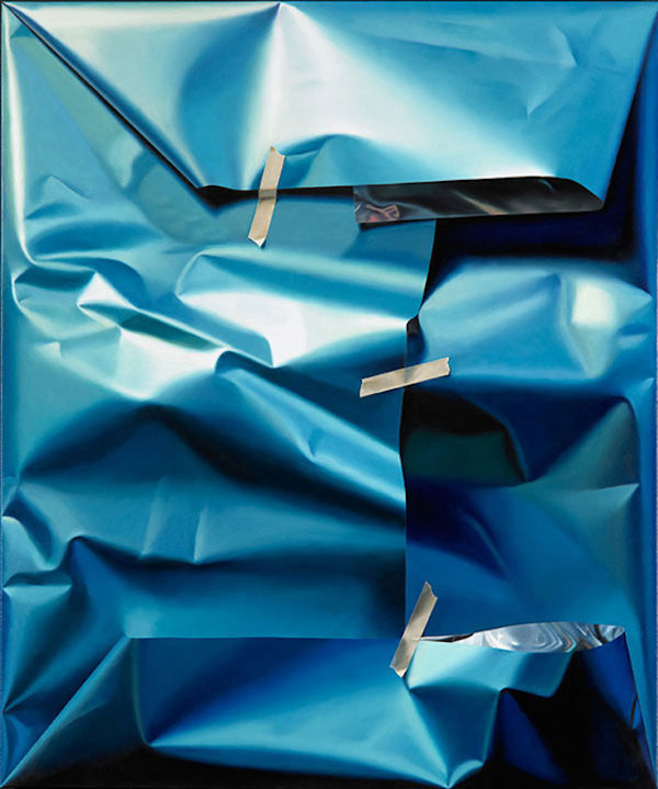 Parcel-Inspired Hyperrealistic Paintings