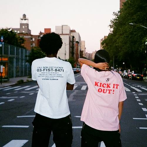Iconography-Inspired Joint Streetwear